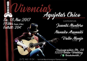 Vivencias - Agujetas Chico in Berlin